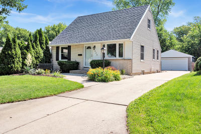 West Allis Single Family Home Active Contingent With Offer: 828 S 101st St