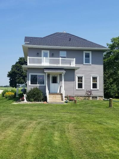 Cedar Grove Single Family Home Active Contingent With Offer: W4037 County Rd Rr