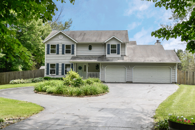 Mequon Single Family Home Active Contingent With Offer: 5023 W Elmdale Rd