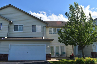 Waukesha Condo/Townhouse Active Contingent With Offer: 2406 Fox River Pkwy #B