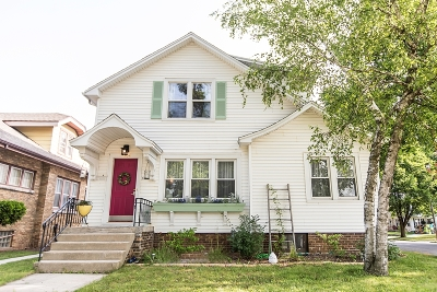 Sheboygan Single Family Home Active Contingent With Offer: 1204 Los Angeles Ave