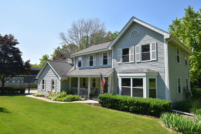 Cedarburg Single Family Home Active Contingent With Offer: N24w5115 Hamilton Rd