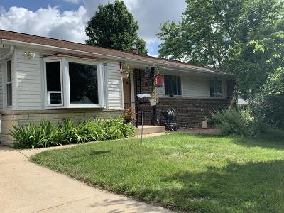 Wauwatosa Single Family Home Active Contingent With Offer: 11510 W Gilbert Ave