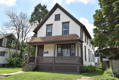 South Milwaukee Two Family Home For Sale: 625 Madison Ave