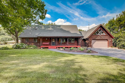 Oconomowoc Single Family Home Active Contingent With Offer: W132 Belleview Ave