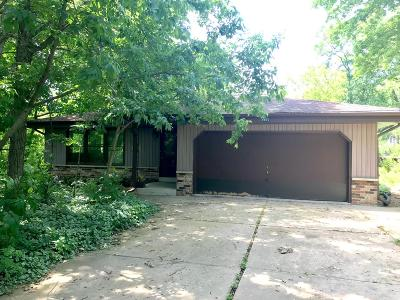 Single Family Home Active Contingent With Offer: 8861 S 35th St