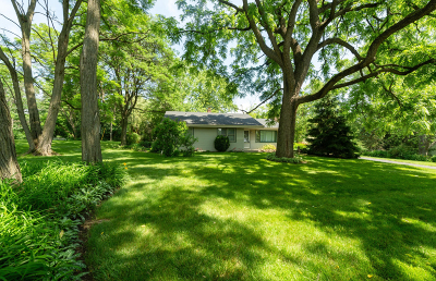 Franklin Single Family Home Active Contingent With Offer: 11860 W Rawson Ave