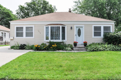 Waukesha Single Family Home Active Contingent With Offer: 1615 Pewaukee Rd