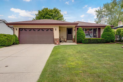 South Milwaukee Single Family Home Active Contingent With Offer: 3013 17th Pl