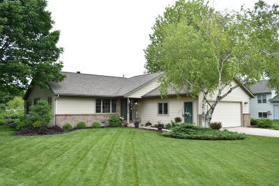 Oostburg WI Single Family Home Active Contingent With Offer: $274,900