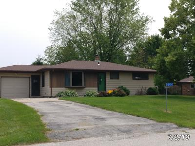 Sheboygan Falls Single Family Home Active Contingent With Offer: W2717 River Bend Ct