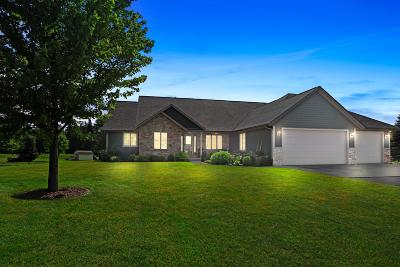West Bend Single Family Home Active Contingent With Offer: 6621 Canyon Ln