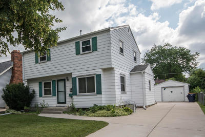 West Allis Single Family Home Active Contingent With Offer: 934 S 111th Pl