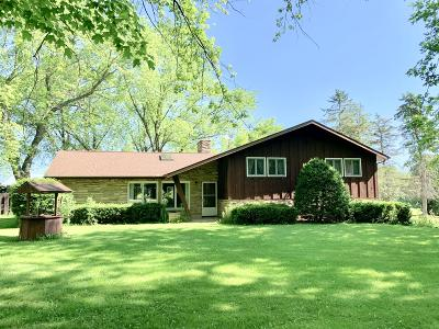 Richfield, Hubertus Single Family Home Active Contingent With Offer: 3420 Pleasant Hill Rd