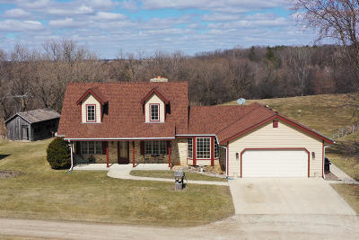 Palmyra Single Family Home For Sale: W1210 State Road 106