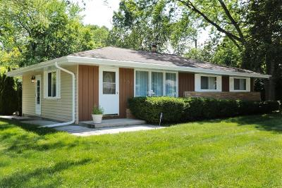 Milwaukee County Single Family Home For Sale: 4831 W Wabash Ave