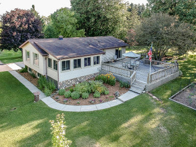West Bend Single Family Home Active Contingent With Offer: 7579 Bavarian Ln.