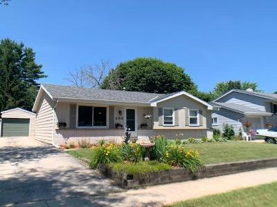 West Bend Single Family Home Active Contingent With Offer: 626 Clear View Dr