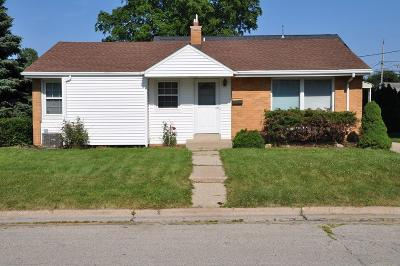 South Milwaukee Single Family Home For Sale: 1701 18th Ave