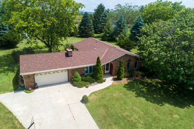 Hartford Single Family Home Active Contingent With Offer: 5392 Marshview N Dr