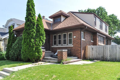 West Allis Single Family Home For Sale: 1326 S 74th St