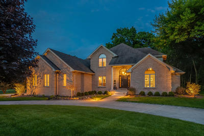 Pleasant Prairie WI Single Family Home For Sale: $624,900