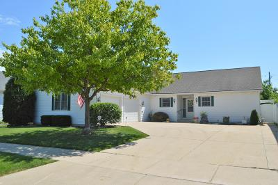 Kenosha Single Family Home Active Contingent With Offer: 4521 23rd Ave