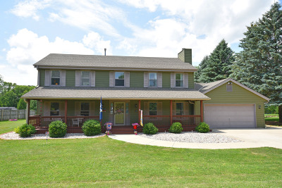 Port Washington Single Family Home Active Contingent With Offer: 3063 Birch Ln