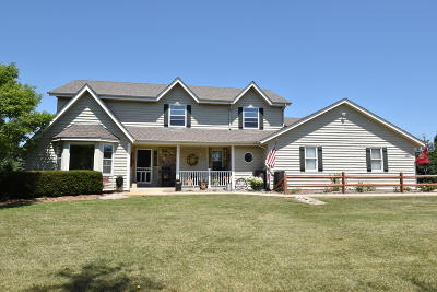 Single Family Home For Sale: S24w36044 Countryside Ct