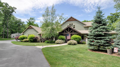 West Bend Single Family Home For Sale: 3838 County Road C