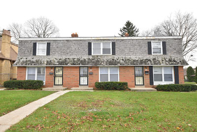 Milwaukee County Multi Family Home For Sale: 5631-35 W Silver Spring Dr