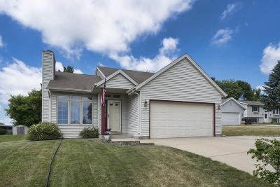Waukesha WI Single Family Home Active Contingent With Offer: $242,500