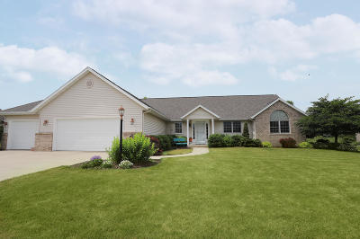 Sheboygan Single Family Home Active Contingent With Offer: 6508 Lone Oak Dr