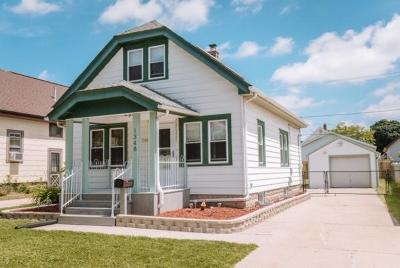 West Allis Single Family Home Active Contingent With Offer: 1348 S 86th St