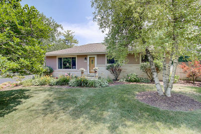 Menomonee Falls Single Family Home Active Contingent With Offer: N63w15119 Pocahontas Dr
