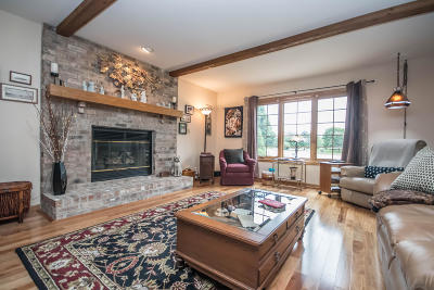 Single Family Home Active Contingent With Offer: 955 Jonquil Ct