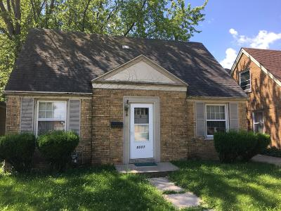 Racine Single Family Home For Sale: 2337 Dwight St