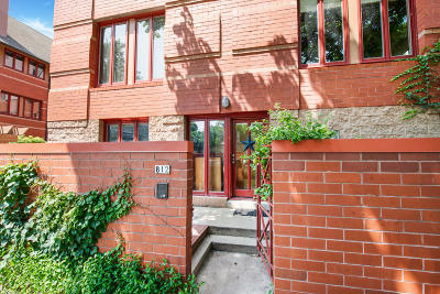Milwaukee Condo/Townhouse Active Contingent With Offer: 812 E Kilbourn Ave