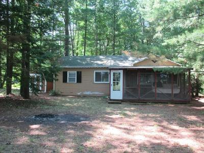 Peshtigo Single Family Home For Sale: N3182 River Bend Drive