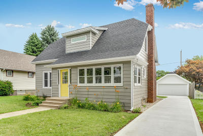 Kenosha Single Family Home Active Contingent With Offer: 5419 36th Ave