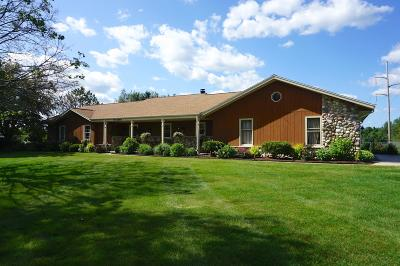 Single Family Home For Sale: N70w28918 Vernon Dr