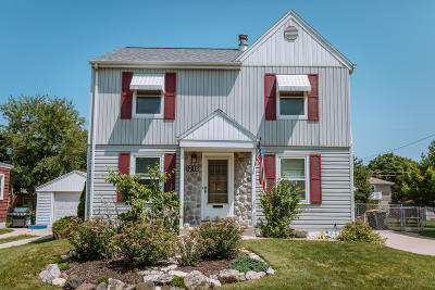 West Allis Single Family Home Active Contingent With Offer: 1216 S 112th St