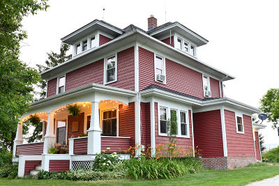 Sheboygan Falls Single Family Home Active Contingent With Offer: W4658 County Road O