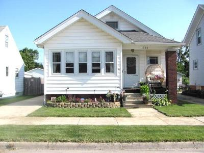 Racine Single Family Home For Sale: 1302 William St