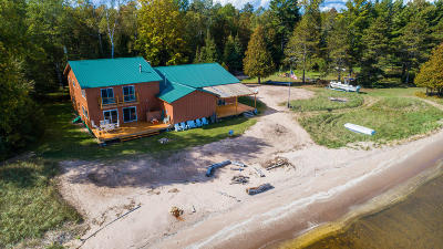 Menominee Single Family Home For Sale: 6378 State Hwy M35