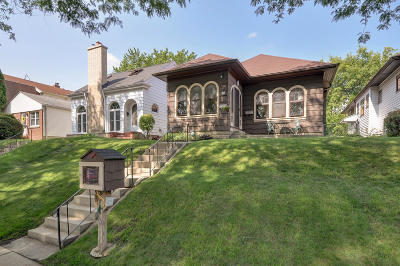 Milwaukee Single Family Home Active Contingent With Offer: 3129 S Pennsylvania Ave