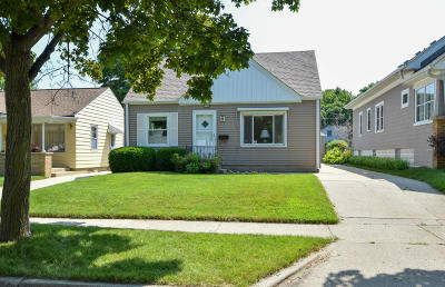 West Allis Single Family Home Active Contingent With Offer: 2144 S 97th St