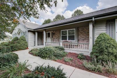 Menomonee Falls Single Family Home For Sale: N77w15855 Crossway Dr