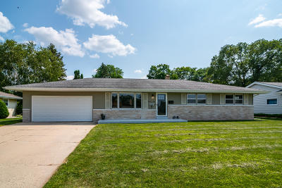 West Bend Single Family Home Active Contingent With Offer: 737 E Kilbourn Ave