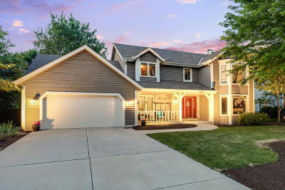 Menomonee Falls Single Family Home Active Contingent With Offer: N53w14310 Invery Dr
